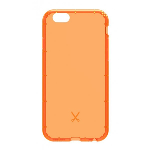 Philo - Shock Resistant Airshock Case for Apple - Airshock Cover - Orange - iPhone 6/6s