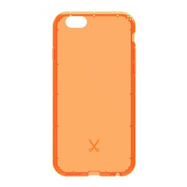 Philo - Cover Airshock Resistente agli Urti per Apple - Cover Airshock - Arancione - iPhone 6/6s