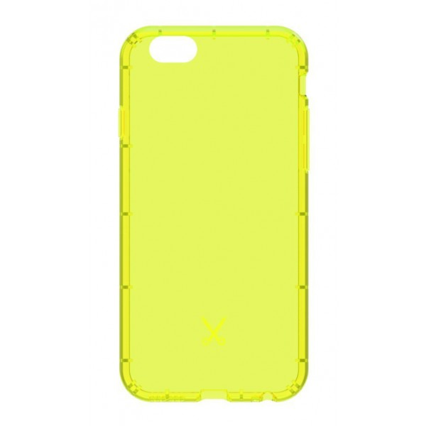 Philo - Shock Resistant Airshock Case for Apple - Airshock Cover - Yellow - iPhone 6/6s