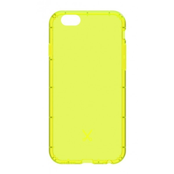 Philo - Cover Airshock Resistente agli Urti per Apple - Cover Airshock - Giallo - iPhone 6/6s