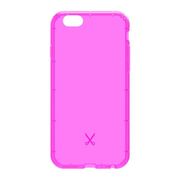 Philo - Cover Airshock Resistente agli Urti per Apple - Cover Airshock - Rosa - iPhone 6/6s