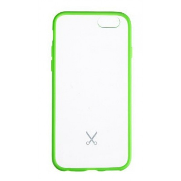 Philo - Cover Protettiva in Gomma Supersottile Antiscivolo per iPhone - Cover Slimbumper - Bumper Cover - Verde - iPhone 6/6s