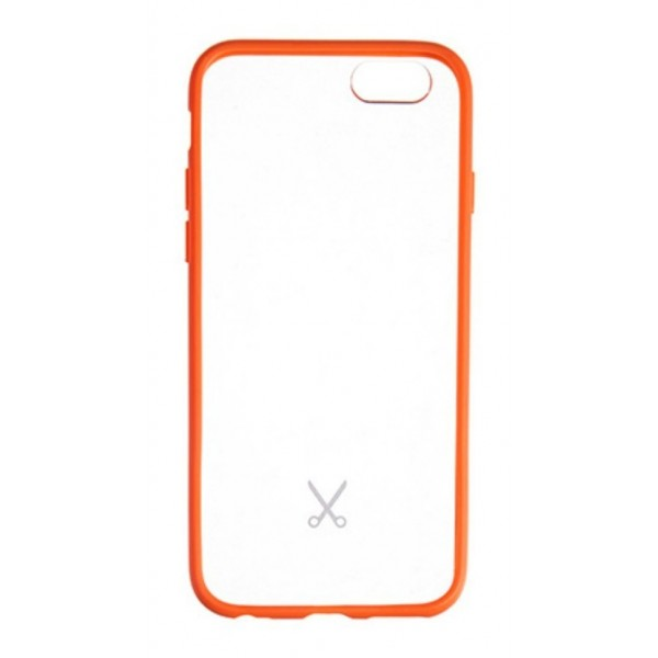 Philo - Rubber Edge and Anti Scratch Bumper Case for iPhone - Slimbumper Case - Bumper Cover - Orange - iPhone 6/6s