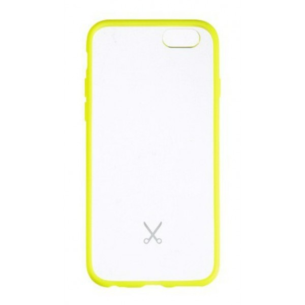 Philo - Cover Protettiva in Gomma Supersottile Antiscivolo per iPhone - Slimbumper - Bumper Cover - Giallo - iPhone 6/6s