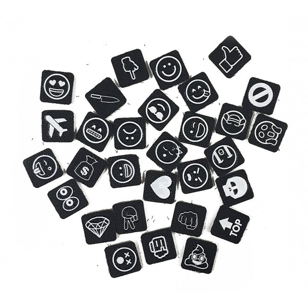 philo extension pack for patch case emoji velcro patch cover