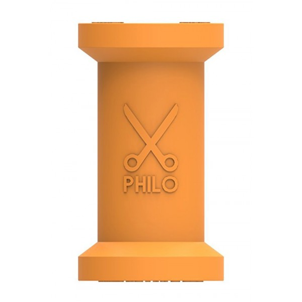 Philo - Spool Cable Organizer foro Apple and Any Device - Orange - Cables