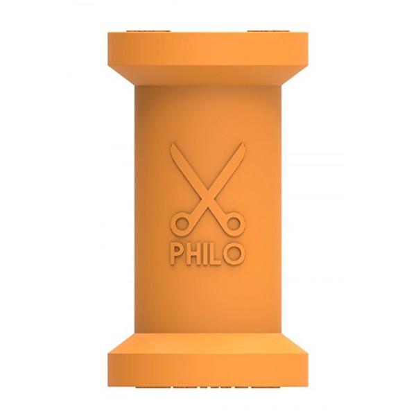 Philo - Spool Organizzatore per Cavi Apple e Ogni Dispositivo - Arancione - Cavi