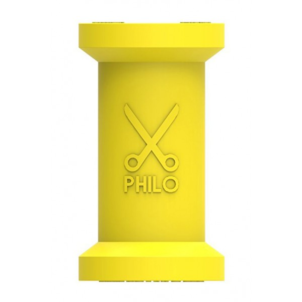 Philo - Spool Cable Organizer foro Apple and Any Device - Yellow - Cables