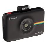 Polaroid - Fotocamera Digitale Snap Touch a Stampa Istantanea con Schermo LCD (Nero) e Tecnologia di Stampa Zink Zero Ink