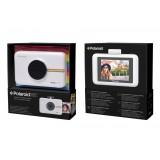 Polaroid - Fotocamera Digitale Snap Touch a Stampa Istantanea con Schermo LCD (Bianco) e Tecnologia di Stampa Zink Zero Ink