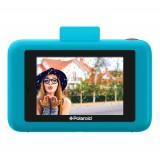 Polaroid - Fotocamera Digitale Snap Touch a Stampa Istantanea con Schermo LCD (Blu) e Tecnologia di Stampa Zink Zero Ink