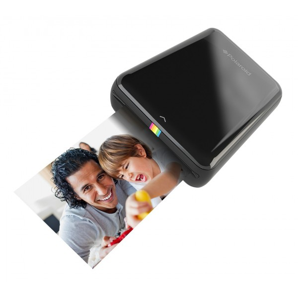 Polaroid - Polaroid ZIP Mobile Printer w/ZINK Zero Ink Printing Technology - Compatible w/iOS & Android Devices - Black