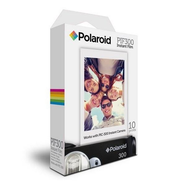 "Polaroid - Polaroid PIF-300 Instant Film per Polaroid PIC 300 (10 fogli) - Polaroid 2 x 3"" - Carta Fotografica"
