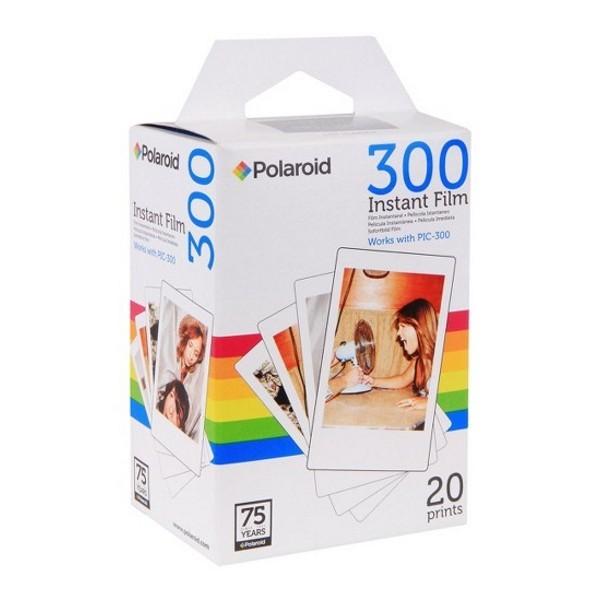 """Polaroid - Polaroid PIF-300 Instant Film for Polaroid PIC 300 (20 pack) - Polaroid 2 x 3"""" - Photo Paper"""