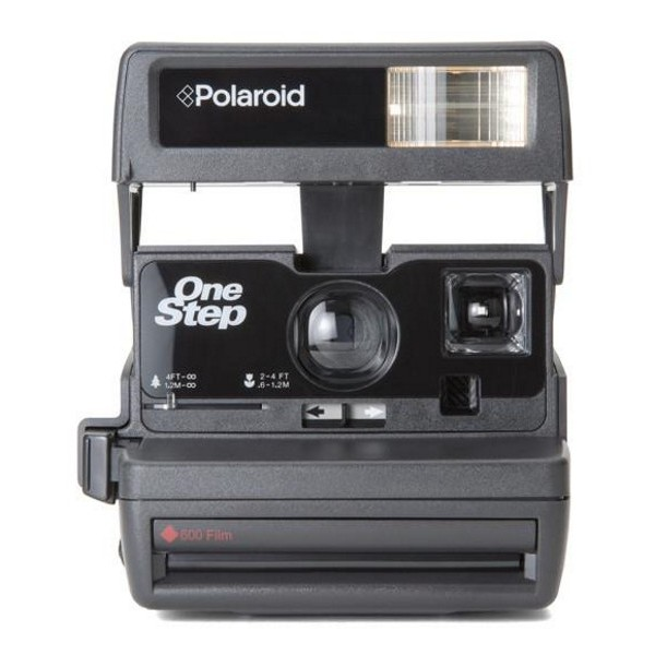 Impossible Polaroid - Impossible Polaroid 600 Camera One Step - Polaroid 600 Type Camera - Polaroid Impossible Camera