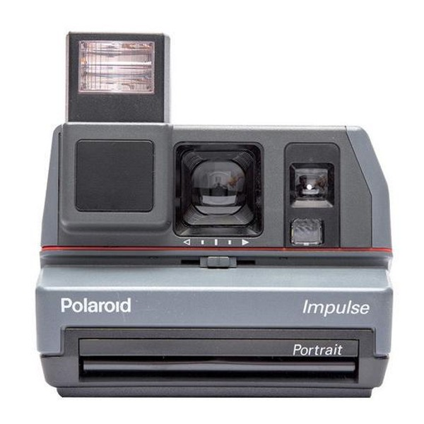 Impossible Polaroid - Impossible Polaroid 600 Camera Impulse - Polaroid 600 Type Camera - Polaroid Impossible Camera