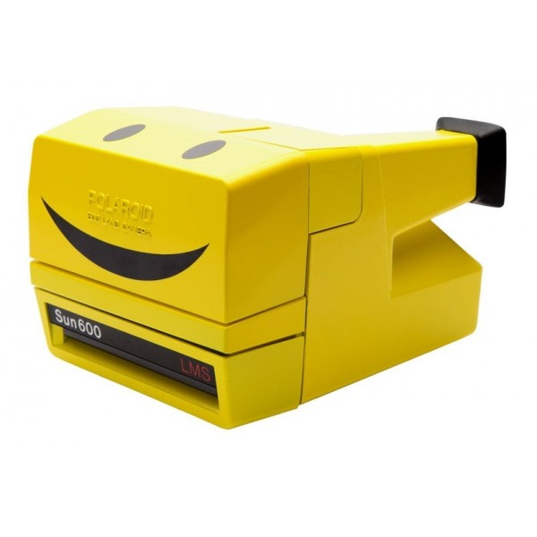 Impossible Polaroid - Impossible Polaroid 600 Camera One Step - Yellow Limited Edition - Polaroid 600 Type Impossible Camera
