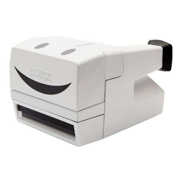 Impossible Polaroid - Impossible Polaroid 600 Camera One Step - White Limited Edition - Polaroid 600 Type Impossible Camera