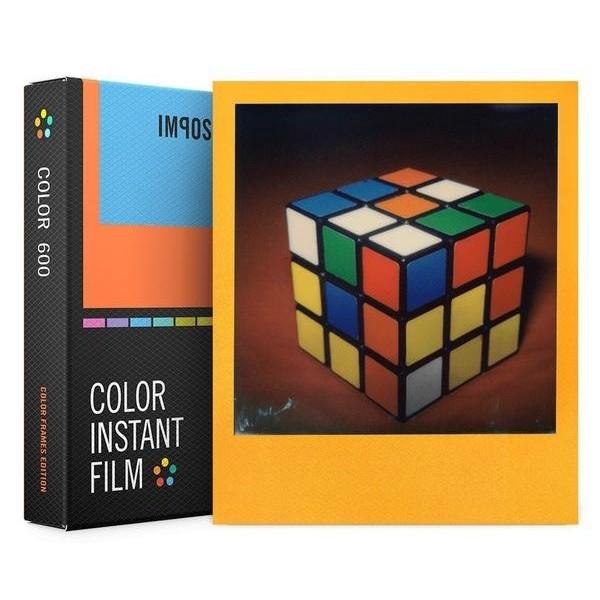 Impossible Polaroid - Color Film per 600 - Frame Colorato - Film per Polaroid 600 Type e Impossible I-1 - Pellicole a Colori