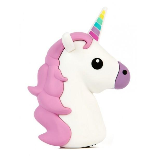 Moji Power - Unicorno - Carica Batteria Portatile ad Alta Capacità Emoji Icon USB - Batterie Portatili - 2600 mAh
