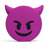 Moji Power - Naughty - High Capacity Portable Power Bank Emoji Icon USB Charger - Portable Batteries - 2600 mAh