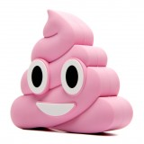 Moji Power - Pink Poo - Carica Batteria Portatile ad Alta Capacità Emoji Icon USB - Batterie Portatili - 2600 mAh