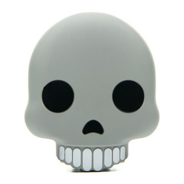 Moji Power - Skull - High Capacity Portable Power Bank Emoji Icon USB Charger - Portable Batteries - 2600 mAh