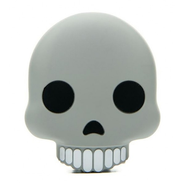 Moji Power - Skull - High Capacity Portable Power Bank Emoji Icon USB Charger - Portable Batteries - 2600 mAh