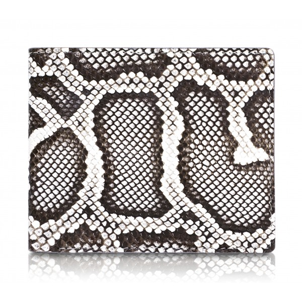 Ammoment - Python in Roccia - Leather Bifold Wallet