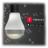 MiPow - PlayBulb Color - Lampadina Speaker Smart Led a Colori Bluetooth - Lampadina Smart Home