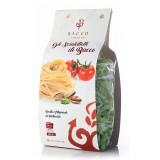 Bacco - Tipicità al Pistacchio - La Brontese - Pasta Scialatielli al Pistacchio - Pasta al Pistacchio di Bronte - 500 g