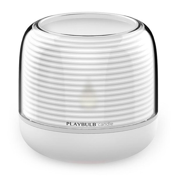 MiPow - PlayBulb Candle S - Lampadina a Candela Smart Led a Colori Bluetooth - Lampadina Smart Home - Versione USB