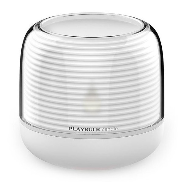 MiPow - PlayBulb Candle S - Lampadina a Candela Smart Led a Colori Bluetooth - Lampadina Smart Home - Versione Batterie AA