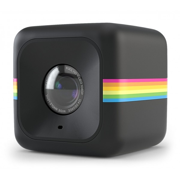 Polaroid - Polaroid Cube+ Wi-Fi Mini Lifestyle Action Camera - Full HD 1440p - Action Sports Camera - Videocamera Azione - Nero