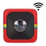 Polaroid - Polaroid Cube Lifestyle Action Camera - Full HD 1080p - Action Sports Camera - Videocamera d'Azione - Rossa