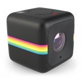 Polaroid - Polaroid Cube+ Wi-Fi Live Streaming Mini Lifestyle Action Camera - Full HD 1440p - Action Sports Camera - Nero