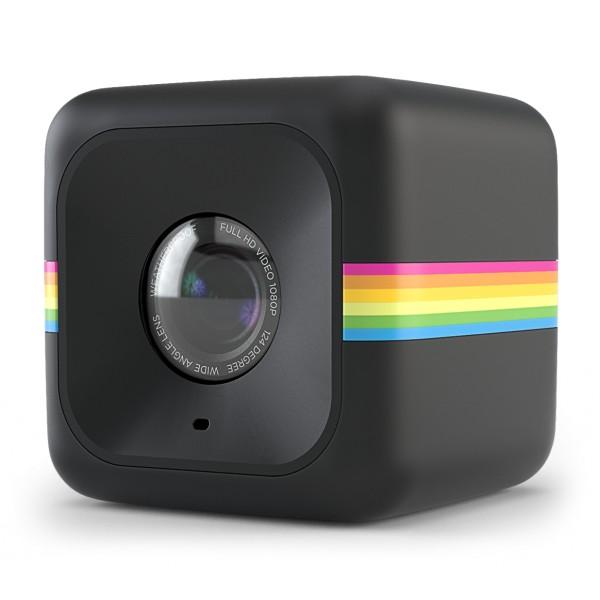 Polaroid - Polaroid Cube+ Live Streaming Wi-Fi Mini Lifestyle Action Camera - Full HD 1440p - Action Sports Cameras - Black