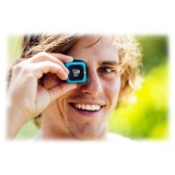 Polaroid - Polaroid Cube+ Wi-Fi Live Streaming Mini Lifestyle Action Camera - Full HD 1440p - Action Sports Camera - Blu
