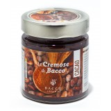 Bacco - Tipicità al Pistacchio - Le Cremose di Bacco - Cacao - Creme Spalmabili Artigianali - 190 g