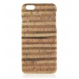 2 ME Style - Cover Sughero Gold Striped - iPhone 8 / 7 - Cover in Sughero