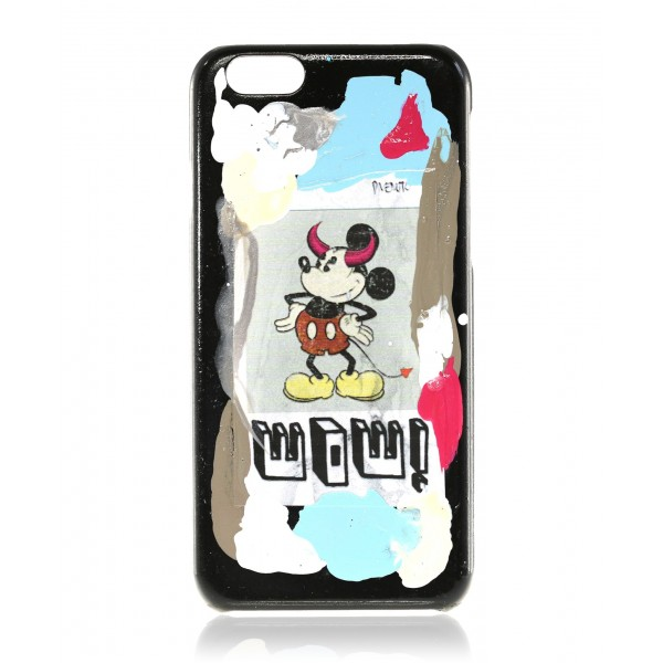 2 ME Style - Cover Massimo Divenuto Mickey Mouse Wow - iPhone 8 / 7 - Cover Massimo Divenuto