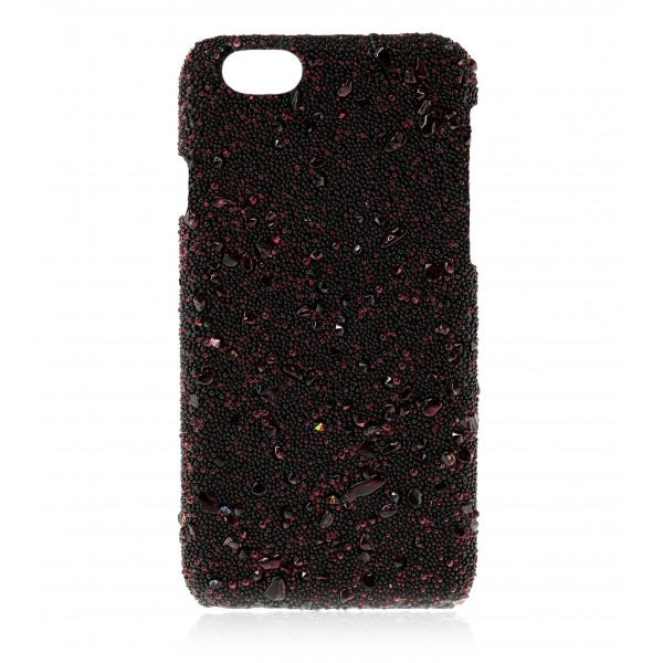 2 ME Style - Cover Crystal Stone Ruby - iPhone 8 Plus / 7 Plus - Cover in Pietre e Cristalli