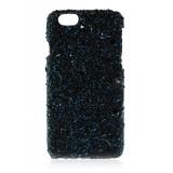 2 ME Style - Cover Crystal Stone Sapphire - iPhone 8 Plus / 7 Plus - Cover in Pietre e Cristalli