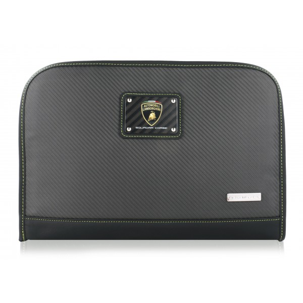 TecknoMonster - Lamborghini Squadra Corse - Dok Racing Team - Aeronautical Carbon Fibre Clutch Briefcase