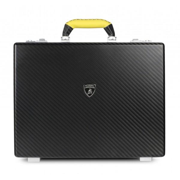 TecknoMonster - Automobili Lamborghini - Bondia Automobili Lamborghini - Valigetta 24 Ore in Fibra di Carbonio Aeronautico