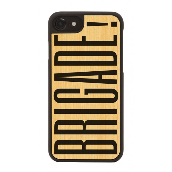 Wood'd - Brigade Cover - iPhone 8 / 7 - Cover in Legno - Artwork Collection