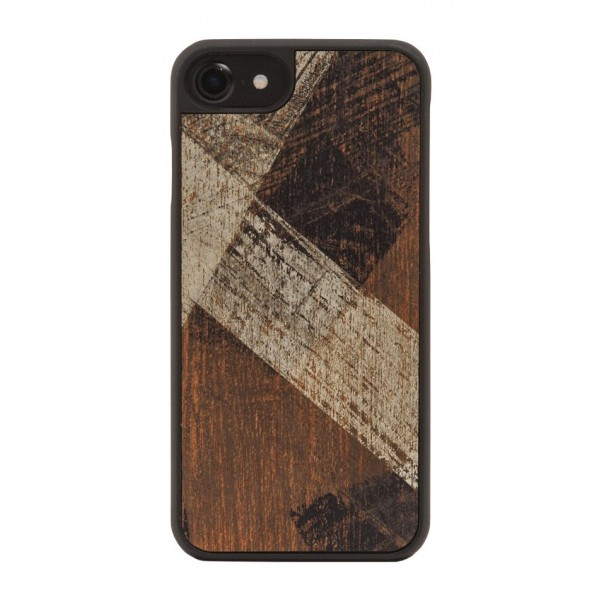 Wood'd - Vintage Mahogany Cover - iPhone 8 Plus / 7 Plus - Cover in Legno - Vintage Collection