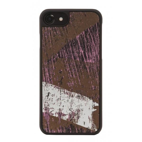 Wood'd - Vintage Black Cover - iPhone 8 Plus / 7 Plus - Cover in Legno - Vintage Collection