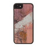 Wood'd - Vintage Pink Cover - iPhone 8 Plus / 7 Plus - Cover in Legno - Vintage Collection