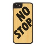Wood'd - No Stop Cover - iPhone 8 Plus / 7 Plus - Cover in Legno - Artwork Collection